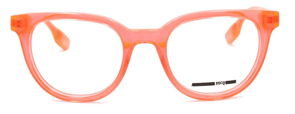 McQ Alexander McQueen MQ0030O 003 Women's Glasses 49-21-140 Fluorescent Orange