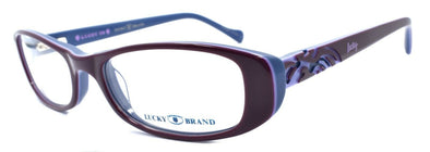 LUCKY BRAND Spark Plug Kids Girls Eyeglasses Frames 49-16-130 Purple + CASE