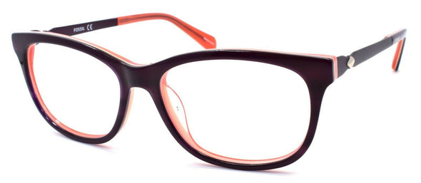 Fossil FOS 7025 7FF Women's Eyeglasses Frames 50-15-140 Purple Violet Red