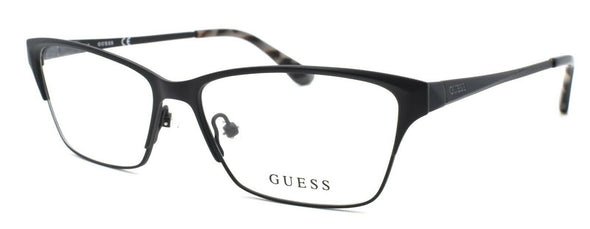GUESS GU2605 082 Women's Eyeglasses Frames 53-14-135 Matte Black + CASE