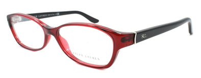 Ralph Lauren RL 6068 5008 Women's Eyeglasses Frames 55-15-130 Transparent Red