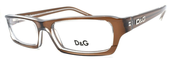 Dolce & Gabbana D&G 1144 758 Women's Eyeglasses Frames 50-16-135 Brown / Clear