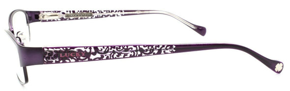 LUCKY BRAND Delilah Women's Eyeglasses Frames 52-16-135 Purple + CASE