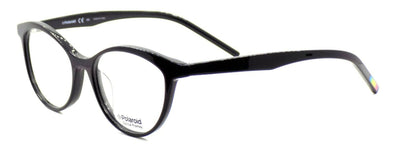Polaroid PLD D303 807 Women's Eyeglasses Frames Cat-eye 51-17-145 Black + CASE