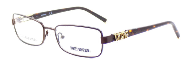 Harley Davidson HD0536 049 Women's Eyeglasses Frames 53-16-135 Dark Brown + Case