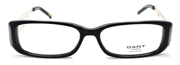 GANT GW Endora BLK Women's Eyeglasses Frames 53-14-135 Black / Gold