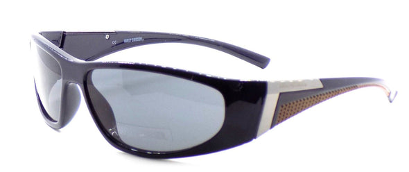 Harley Davidson HDX871 NV Wraparound Sunglasses Navy Blue 63-15-130 Smoke + CASE