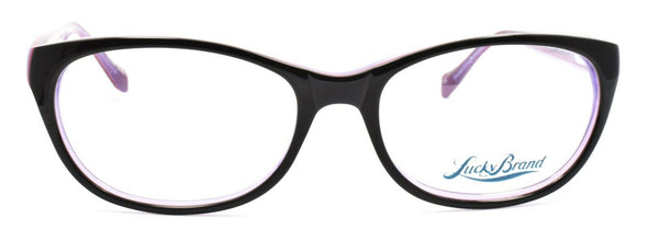 LUCKY BRAND D600 Women's Eyeglasses Frames 52-16-135 Black + CASE