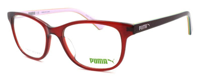 PUMA PU0076O 003 Women's Eyeglasses Frames 50-17-135 Red