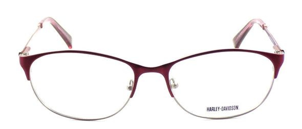 Harley Davidson HD516 RD Women's Eyeglasses Frames LARGE 57-17-140 Red + CASE