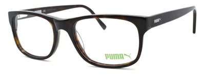 PUMA PE0020O 002 Unisex Eyeglasses Frames 53-18-140 Brown + CASE