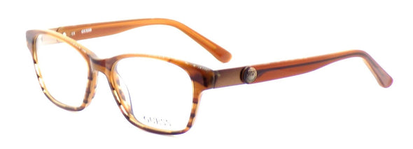 GUESS GU2356 BRN Women's Eyeglasses Frames Plastic 52-16-140 Brown + Case