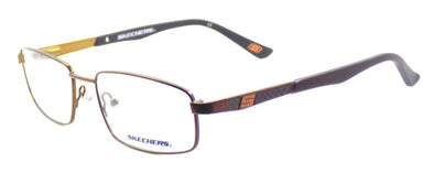 SKECHERS SE 3164 049 Men's Eyeglasses Frames 54-17-135 Matte Dark Brown + CASE