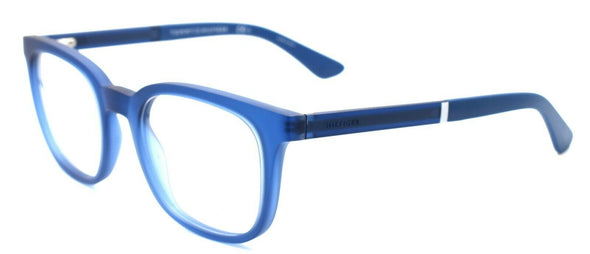 TOMMY HILFIGER TH 1477 GEG Men's Eyeglasses Frames 50-21-145 Transparent Blue