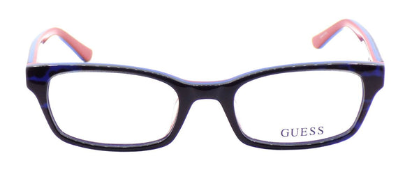 GUESS GU2535 092 Women's Eyeglasses Frames Plastic 50-19-135 Blue / Multi + CASE