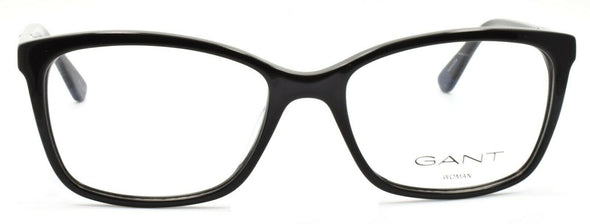 GANT GA4070 001 Women's Eyeglasses Frames 53-17-135 Shiny Black + CASE