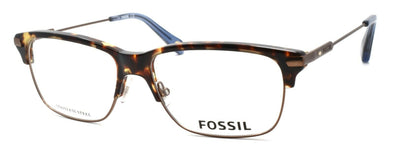 Fossil FOS 6056 OIS Men's Eyeglasses Frames 53-15-145 Matte Brown / Havana +CASE