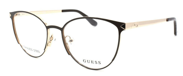 GUESS GU2665 049 Women's Eyeglasses Frame 51-17-135 Dark Brown + Case