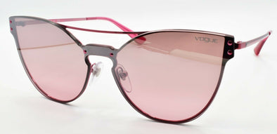 Vogue VO4135S 51147E Women's Sunglasses Cat Eye Red / Pink Mirror Silver