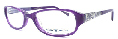 LUCKY BRAND Jade Kids Girls Eyeglasses Frames 48-16-130 Purple + CASE