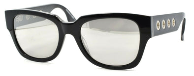 McQ Alexander McQueen MQ0020S 002 Women's Sunglasses Black / Mirrored