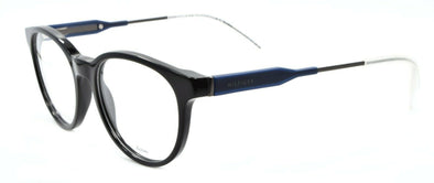 TOMMY HILFIGER TH 1349 JW9 Unisex Eyeglasses Frames 50-18-145 Black / Blue +CASE