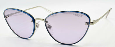 Vogue VO4111S 323/7A Women's Sunglasses Cat Eye Silver / Violet Silver Mirrored
