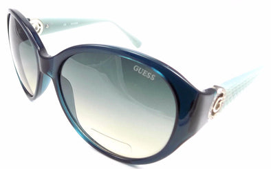 GUESS GU7347 TL-72 Women's Sunglasses 60-17-130 Crystal Blue / Blue Gradient