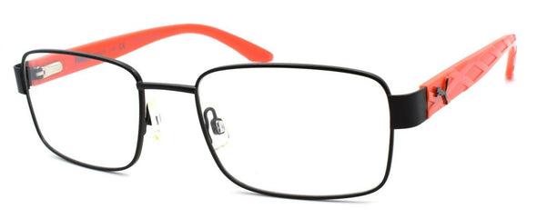 PUMA PU0025O 005 Men's Eyeglasses Frames 56-20-140 Black / Red