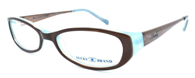 LUCKY BRAND Beach Trip Kids Girls Eyeglasses Frames 46-15-130 Brown + CASE