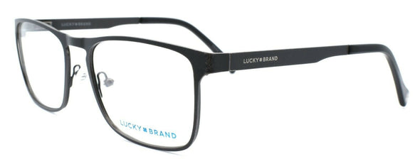 LUCKY BRAND D305 Men's Eyeglasses Frames 53-18-140 Dark Gunmetal + CASE