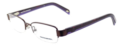 SKECHERS SK2084 SBRN Women's Eyeglasses Frames 49-17-135 Satin Brown + CASE