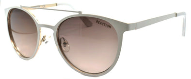 Kenneth Cole Reaction KC1315 24F Women Sunglasses Aviator Matte White / Gradient