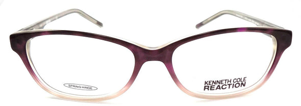 Kenneth Cole REACTION KC0730	055 Women's Eyeglasses 53-15-135 Coloured Havana