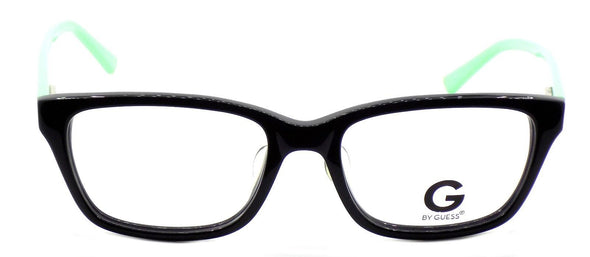 G by Guess GGA100 BLKGN Men's ASIAN FIT Eyeglasses Frames 55-18-140 Black + CASE