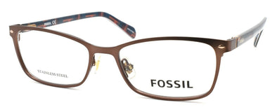 Fossil FOS 7038 4IN Women's Eyeglasses Frames 50-16-140 Matte Brown + CASE