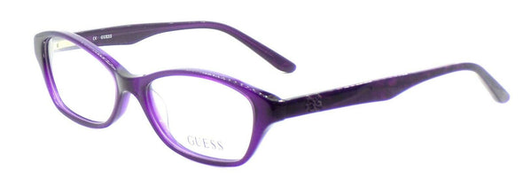 GUESS GU2417 PUR Women's Plastic Eyeglasses Frames 52-15-135 Purple + CASE