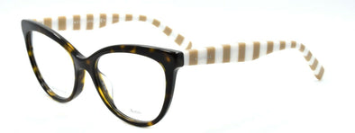 TOMMY HILFIGER TH 1481 9N4 Women's Eyeglasses Frames 52-17-140 Havana / Stripes