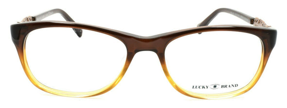 LUCKY BRAND Palm UF Women's Eyeglasses Frames 52-17-140 Brown Gradient + CASE
