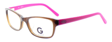 G by Guess GGA105 BRN Women's ASIAN FIT Eyeglasses Frames 52-18-135 Brown + Case