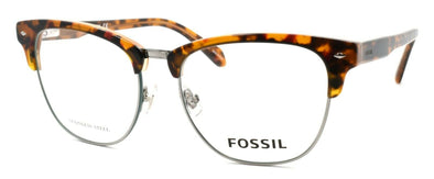 FOS 7019 086 Men's Eyeglasses Frames 53-17-145 Dark Havana