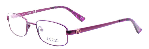 GUESS GU2524 082 Women's Eyeglasses Frames 49-18-135 Purple + CASE