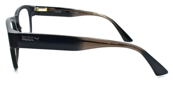 PUMA PU0045O 001 Men's Eyeglasses Frames 52-21-140 Black / Gray