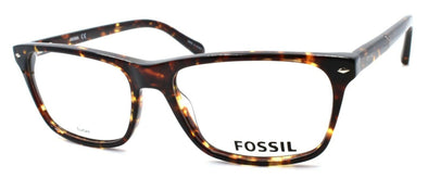 Fossil FOS 6086 TLF Men's Eyeglasses Frames 55-17-145 Havana Brown