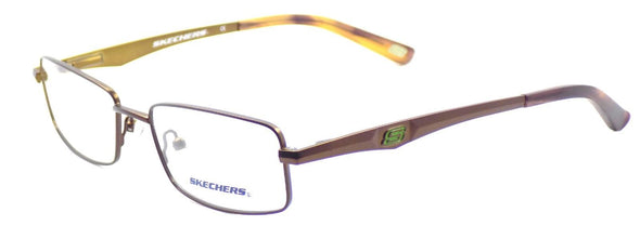 SKECHERS SK 3125 MBRN Men's Eyeglasses Frames 52-17-140 Matte Brown + CASE