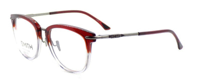 SMITH Optics Quinlan IOX Unisex Eyeglasses Frames 51-19-140 Red Crystal Split
