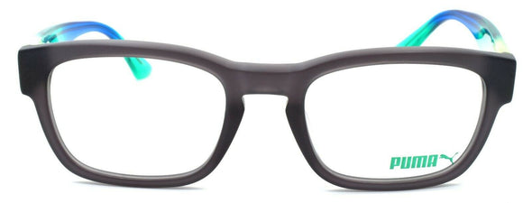 PUMA PU0045O 004 Men's Eyeglasses Frames 52-21-140 Matte Gray / Multicolor