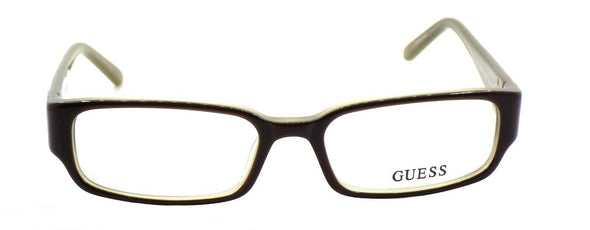 GUESS GU1686 BRN Women's Eyeglasses Frames Plastic 51-16-135 Brown + CASE