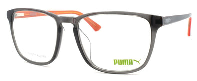 PUMA PU0077OA 005 Women's Eyeglasses Frames 56-18-145 Gray + CASE