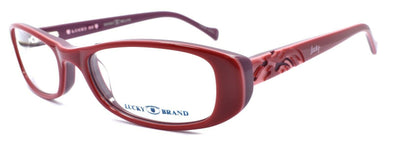 LUCKY BRAND Spark Plug Kids Girls Eyeglasses Frames 49-16-130 Red + CASE